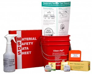 MSDS, Test Strips, Spray Bottles